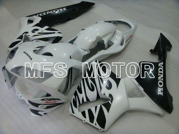 Honda CBR600RR 2003-2004 Injection ABS Fairing - Factory Style - White Black - MFS2074