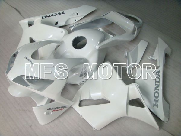 Honda CBR600RR 2003-2004 Injection ABS Fairing - Factory Style - White - MFS2076