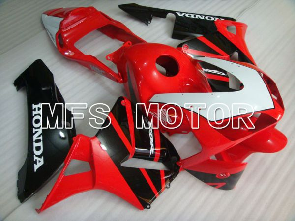 Honda CBR600RR 2003-2004 ABS Injection Fairing - Factory Style - Red Black White - MFS2087