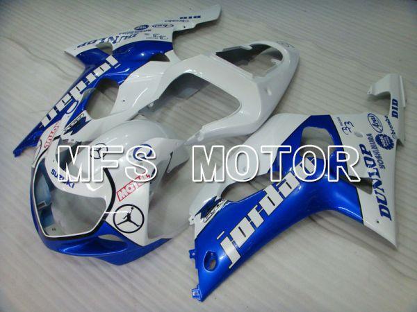 Suzuki GSXR600 2001-2003 Injection ABS Fairing - Jordan - Blue White - MFS2093