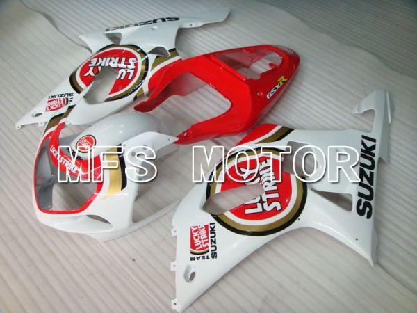 Suzuki GSXR600 2001-2003 Injection ABS Fairing - Lucky Strike - Red White - MFS2096