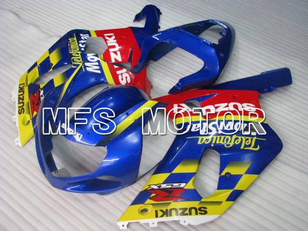Suzuki GSXR750 2000-2003 Injection ABS Fairing - Movistar - Red Blue - MFS6941