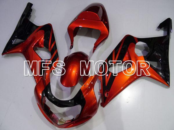 Suzuki GSXR600 2001-2003 Injection ABS Fairing - Factory Style - Black Red - MFS2107