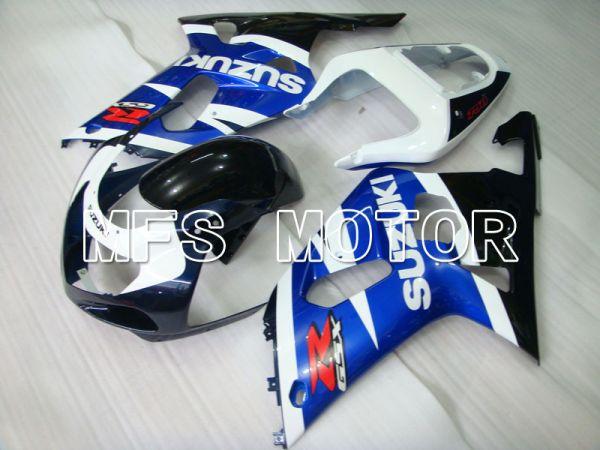 Suzuki GSXR600 2001-2003 Injection ABS Fairing - Factory Style - Black Wihte Blue - MFS2110