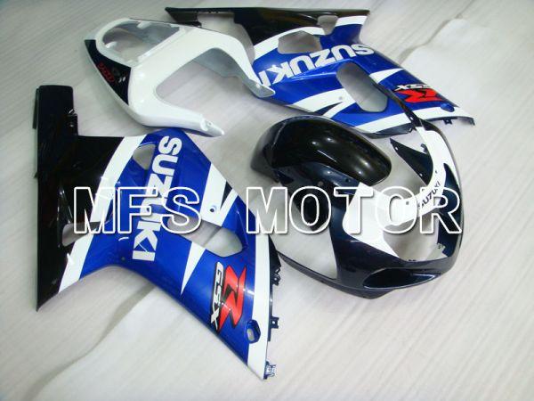 Suzuki GSXR750 2000-2003 Injection ABS Fairing - Factory Style - Black Wihte Blue - MFS6943