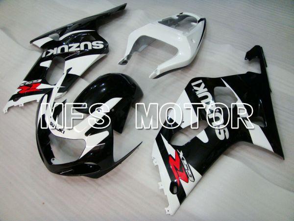 Suzuki GSXR750 2000-2003 Injection ABS Fairing - Factory Style - Black White - MFS6946