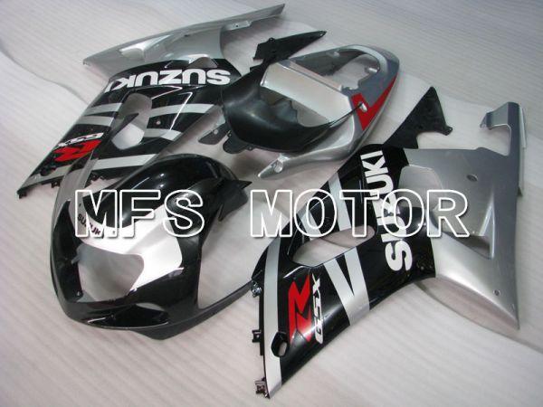 Suzuki GSXR750 2000-2003 Injection ABS Fairing - Factory Style - Black Silver - MFS6950