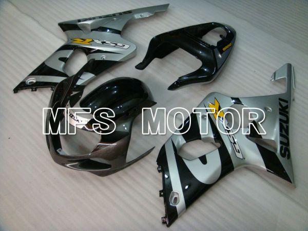 Suzuki GSXR600 2001-2003 Injection ABS Fairing - Factory Style - Black Silver - MFS2134