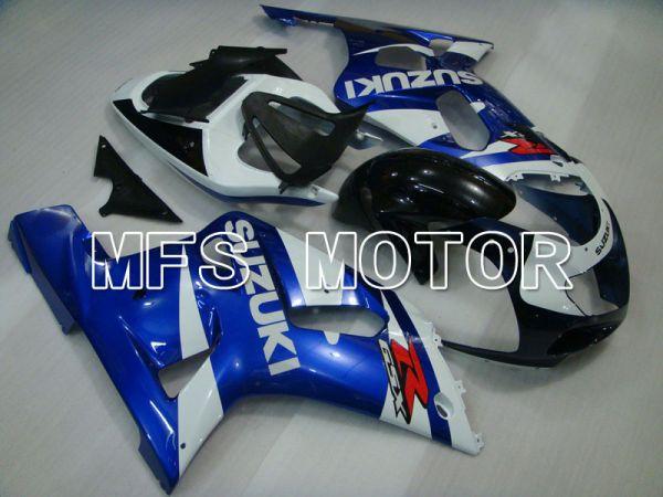 Suzuki GSXR600 2001-2003 Injection ABS Fairing - Factory Style - Black Blue White - MFS2157