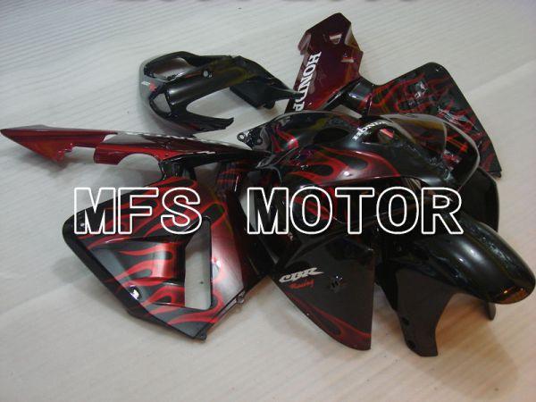 Honda CBR600RR 2005-2006 Injection ABS Fairing - Flame - Red Black - MFS2158