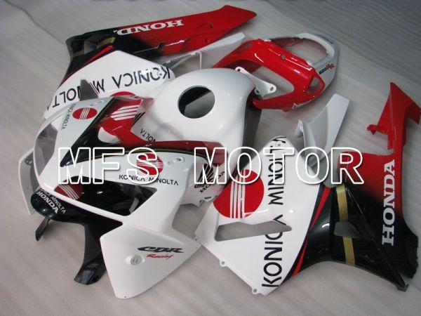 Honda CBR600RR 2005-2006 Injection ABS Fairing - Konica Minolta - Red Black White - MFS2159