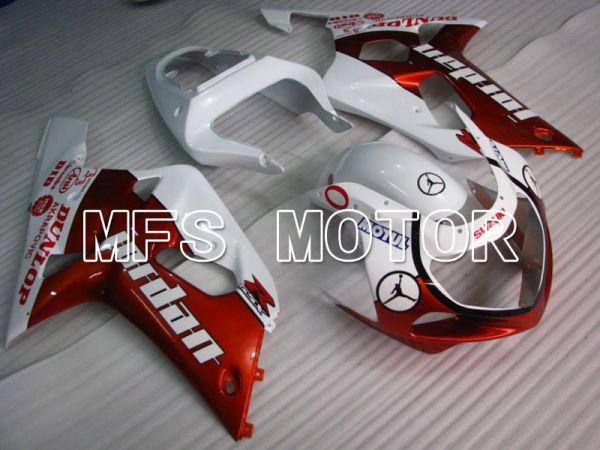 Suzuki GSXR600 2001-2003 Injection ABS Fairing - Jordan - Red White - MFS2160
