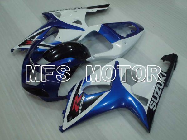 Suzuki GSXR600 2001-2003 Injection ABS Fairing - Factory Style - White Blue - MFS2176