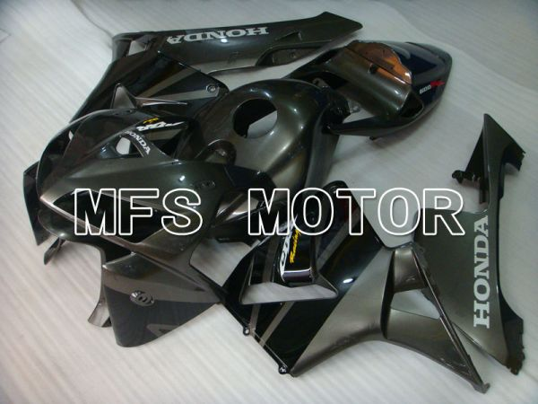 Honda CBR600RR 2005-2006 Injection ABS Fairing - Factory Style - Black - MFS2181