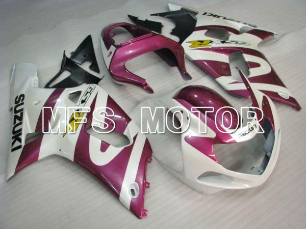 Suzuki GSXR600 2001-2003 Injection ABS Fairing - Factory Style - White Purple - MFS2193