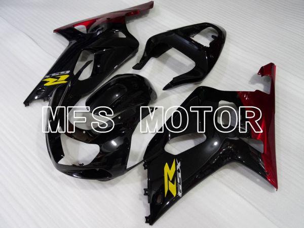 Suzuki GSXR600 2001-2003 Injection ABS Fairing - Jordan - Black Red - MFS2197