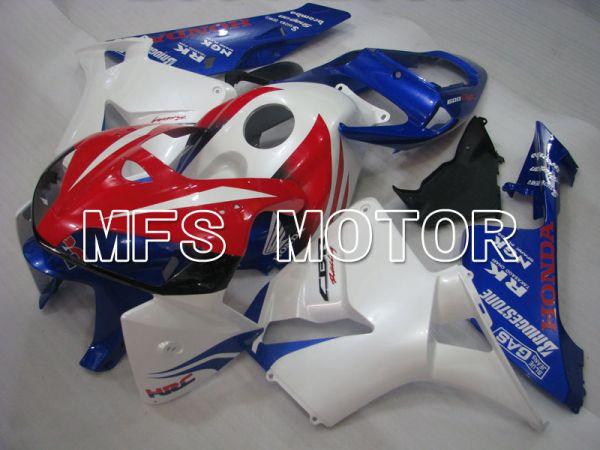 Honda CBR600RR 2005-2006 Injection ABS Fairing - HRC - Red Blue White - MFS2198