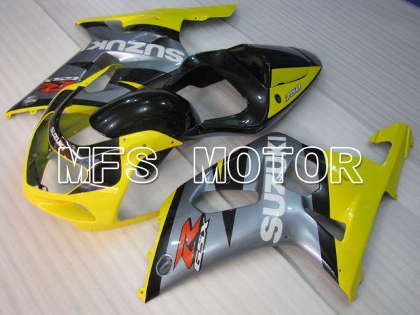 Suzuki GSXR600 2001-2003 Injection ABS Fairing - Factory Style - Gray Yellow - MFS2206