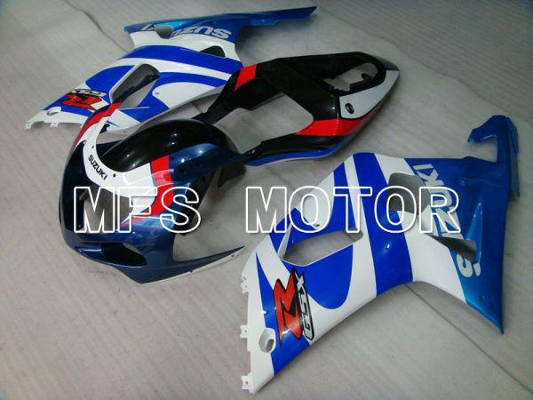 Suzuki GSXR600 2001-2003 Injection ABS Fairing - Factory Style - White Blue - MFS2210