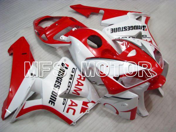 Honda CBR600RR 2005-2006 Injection ABS Fairing - PRAMAC - White Red - MFS2217