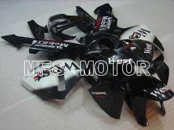 Honda CBR600RR 2005-2006 Injection ABS Fairing - West - White Black - MFS2227