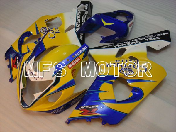 Suzuki GSXR600 GSXR750 2004-2005 Injection ABS Fairing - Corona - Blue Yellow - MFS2228