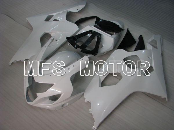Suzuki GSXR600 GSXR750 2004-2005 Injection ABS Fairing - Factory Style - White - MFS2235