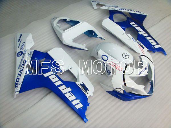 Suzuki GSXR600 GSXR750 2004-2005 Injection ABS Fairing - Jordan - Blue White - MFS2240