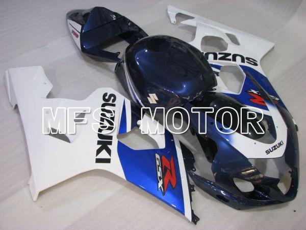 Suzuki GSXR600 GSXR750 2004-2005 Injection ABS Fairing - Factory Style - Blue White - MFS2250