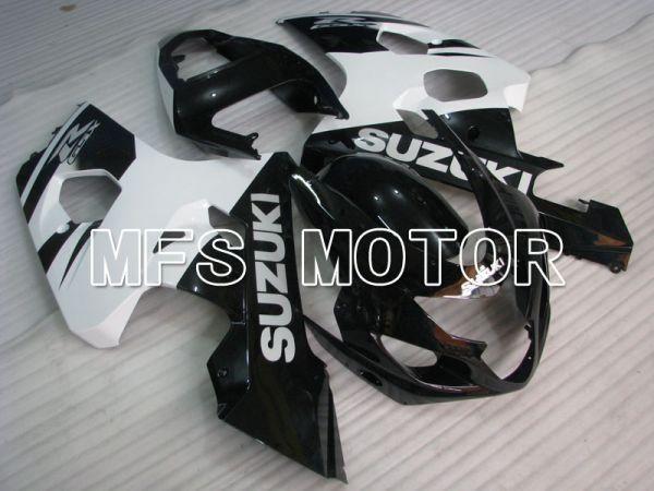 Suzuki GSXR600 GSXR750 2004-2005 Injection ABS Fairing - Factory Style - Black White - MFS2275