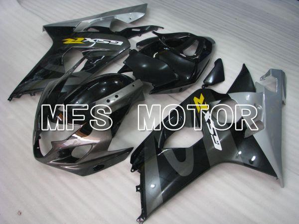Suzuki GSXR600 GSXR750 2004-2005 Injection ABS Fairing - Factory Style - Black Gray - MFS2278