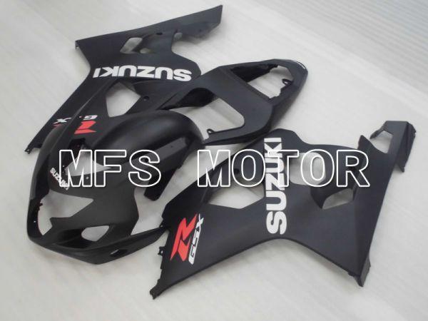 Suzuki GSXR600 GSXR750 2004-2005 Injection ABS Fairing - Factory Style - Black Matte - MFS2290