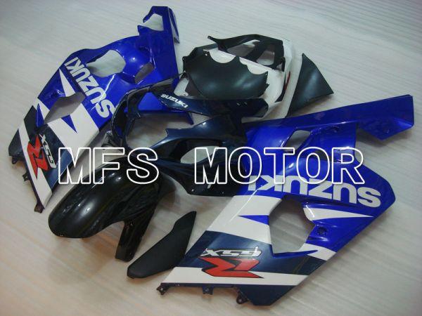 Suzuki GSXR600 GSXR750 2004-2005 Injection ABS Fairing - Factory Style - Black Blue White - MFS2292