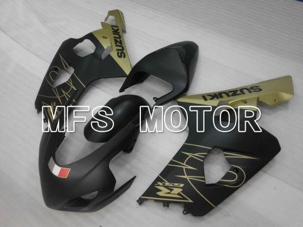 Suzuki GSXR600 GSXR750 2004-2005 Injection ABS Fairing - Factory Style - Black Gold Matte - MFS2313