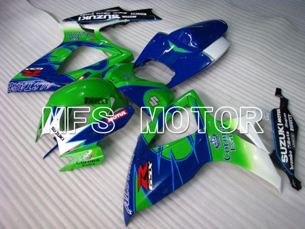 Suzuki GSXR600 GSXR750 2006-2007 Injection ABS Fairing - Corona - Blue Green - MFS2330