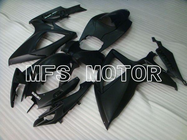Suzuki GSXR600 GSXR750 2006-2007 Injection ABS Fairing - Factory Style - Black Matte - MFS2331