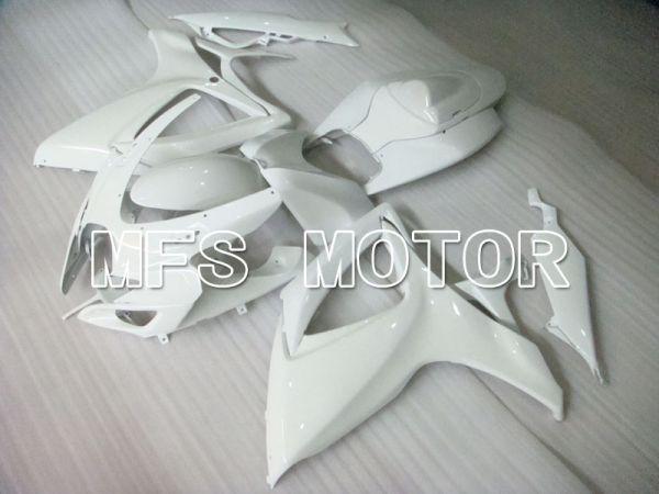Suzuki GSXR600 GSXR750 2006-2007 Injection ABS Fairing - Factory - White - MFS2333