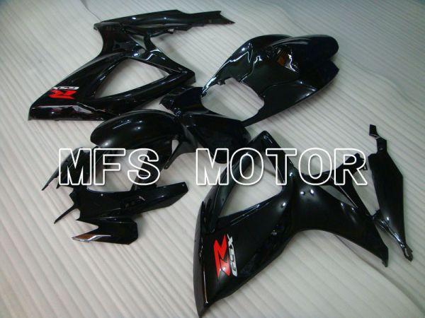 Suzuki GSXR600 GSXR750 2006-2007 Injection ABS Fairing - Factory Style - Black - MFS2356