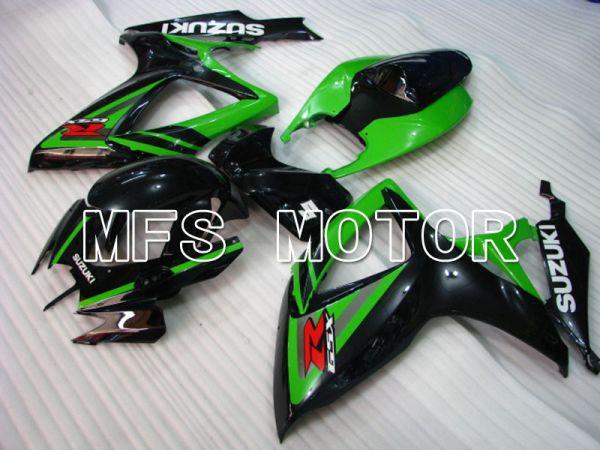 Suzuki GSXR600 GSXR750 2006-2007 Injection ABS Fairing - Factory Style - Black Green - MFS2364