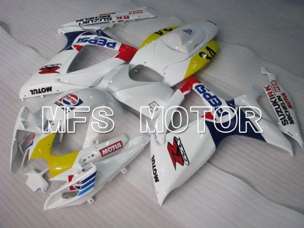 Suzuki GSXR600 GSXR750 2006-2007 Injection ABS Fairing - PEPSI - White - MFS2366