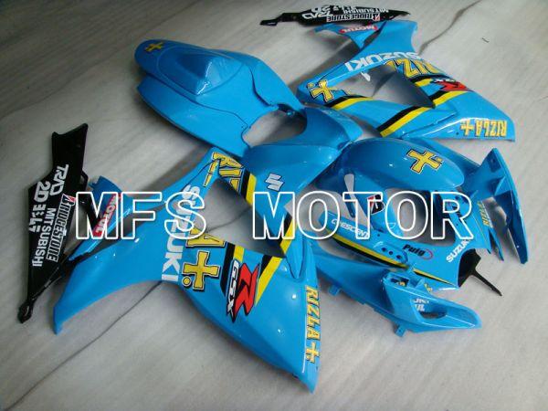 Suzuki GSXR600 GSXR750 2006-2007 Injection ABS Fairing - Rizla+ - Blue - MFS2368