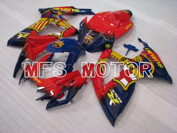 Suzuki GSXR600 GSXR750 2006-2007 Injection ABS Fairing - FCB - Blue Red - MFS2376