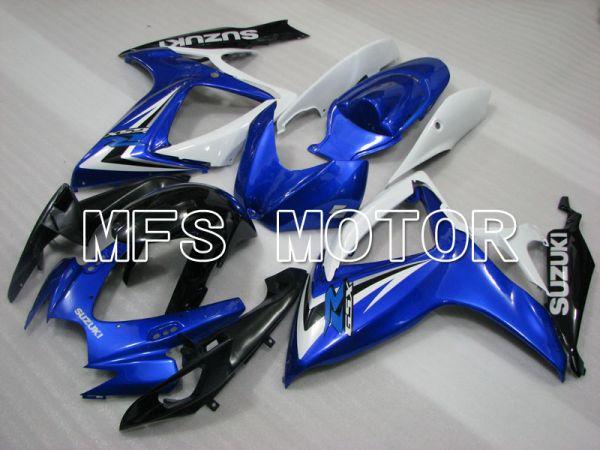 Suzuki GSXR600 GSXR750 2006-2007 Injection ABS Fairing - Factory Style - Blue White - MFS2378