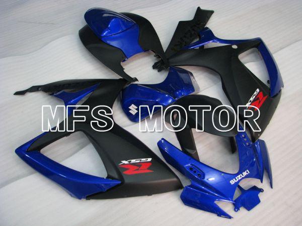 Suzuki GSXR600 GSXR750 2006-2007 Injection ABS Fairing - Factory Style - Blue Black - MFS2385