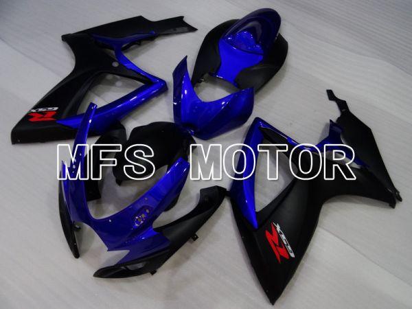 Suzuki GSXR600 GSXR750 2006-2007 Injection ABS Fairing - Factory Style - Blue Black - MFS2396