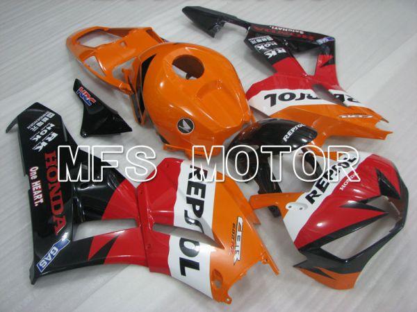 Honda CBR600RR 2013-2017 Injection ABS Fairing - Repsol - Orange Red Black - MFS2401