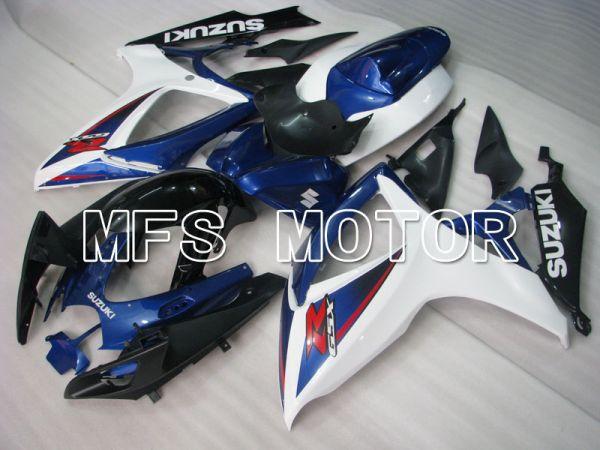 Suzuki GSXR600 GSXR750 2006-2007 Injection ABS Fairing - Factory Style - Blue White - MFS2418