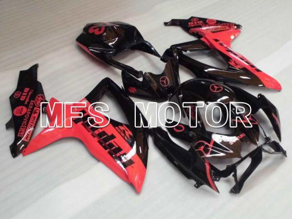 Suzuki GSXR600 GSXR750 2008-2010 Injection ABS Fairing - Jordan - Black Pink - MFS2439