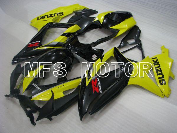 Suzuki GSXR600 GSXR750 2008-2010 Injection ABS Fairing - Factory Style - Black Yellow - MFS2441