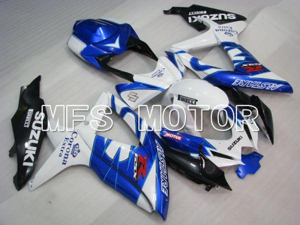 Suzuki GSXR600 GSXR750 2008-2010 Injection ABS Fairing - Corona - Blue White - MFS2443